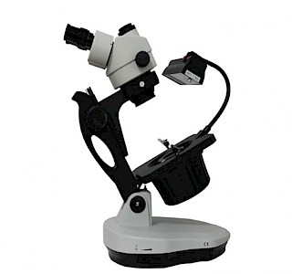 VGM600A Trinocular Zoom Jewelry & Gemology Microscope with super long working distance and ellipse base
