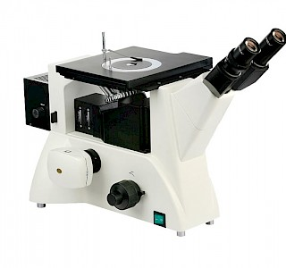 VM3000DIC 50X~500X Inverted Differential Interference Contrast Metallurgical Microscope with Halogen Lamp