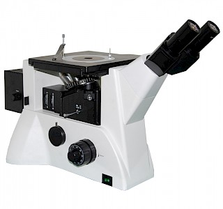 VM3000BDDIC 50X~500X Inverted BF/DF Metallurgical Microscope with Kohler Illumination