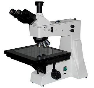 VM4800DIC Upright Metallurgical Microscope with transmitted illuminator & reflected DIC system