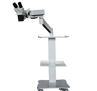 VMS102CD Table Mounted Dental Microscope Trolley Type Operating